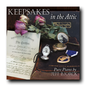 New CD Release!<br>Keepsakes in the Attic<br/>
